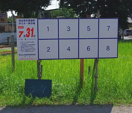 埼玉県知事選挙ポスターボード.jpg